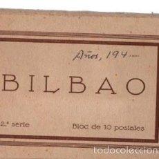 Postales: BLOC 10 POSTALES BILBAO. 2ª SERIE. FHER. COMPLETO. Lote 60594935
