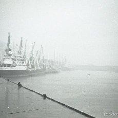 Postales: NEGATIVO ESPAÑA BILBAO SANTURCE PUERTO AÑO 1966 KODAK 35MM SPAIN PHOTO FOTO . Lote 61316807
