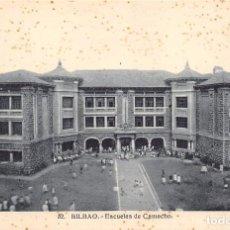 Postales: BILBAO.- ESCUELAS DE CAMACHO. Lote 61882936