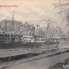 Postkarten - BILBAO.- DETALLE DE LA RÍA - 61883032