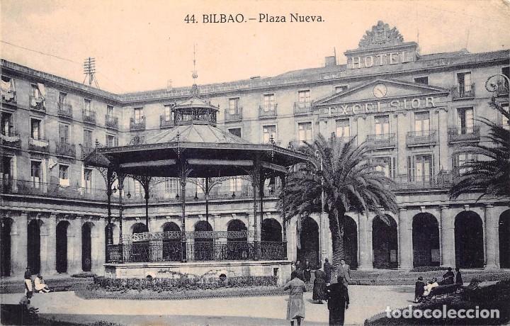 BILBAO.- PLAZA NUEVA (Postales - España - Pais Vasco Antigua (hasta 1939))
