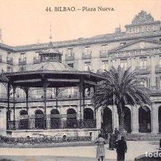 Postales: BILBAO.- PLAZA NUEVA. Lote 61883504