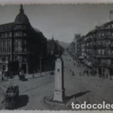 Postales: POSTAL DE BILBAO - PLAZA DE ESPAÑA Y GRAN VIA - L. ROISIN FOT.. Lote 62158468
