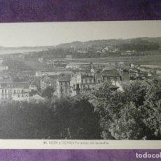 Postales: POSTAL - ESPAÑA - PAIS VASCO - IRÚN Y HENDAYA ANTES DEL INCENDIO - L. ROISIN - NUEVA. Lote 62271136