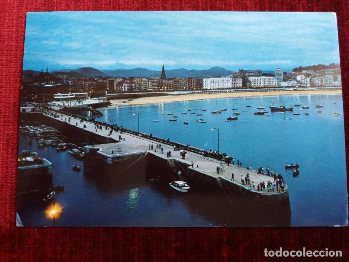 SAN SEBASTIAN. VISTA PARCIAL, CIRCULADA 1972 (Postales - España - País Vasco Moderna (desde 1940))