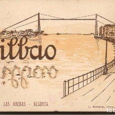 Postales: ALBUM COMPLETO 20 POSTALES BILBAO; PORTUGALETE - LAS ARENAS - ALGORTA. SERIE I. L. ROISIN, FOTO.. Lote 62890760