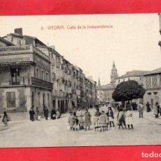 Postales: VITORIA. 5 CALLE DE LA INDEPENDENCIA. THOMAS. Lote 64474407