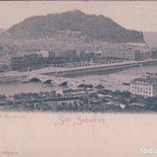Postales: POSTAL DE SAN SEBASTIAN. VISTA TOMADA DE CONCORRONEA. ROMMIER & JONAS Nº 10532. Lote 64761419