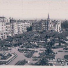 Cartes Postales: SAN SEBASTIAN - JARDINES DE ALDERDI-EDER Nº 18.. Lote 64802531