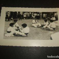 Postales: DURANGO VIZCAYA 28 DE ABRIL DE 1937 ACTO FLOKLORICO NIÑOS VASCOS POSTAL FOTOGRAFICA. Lote 64851779