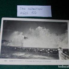 Postales: POSTAL DE SAN SEBASTIAN AÑOS 50. Lote 64932999
