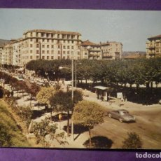 Postales: POSTAL - ESPAÑA - GUIPUZCOA - IRUN - PASEO DE COLÓN Y PLAZA DE ESPAÑA - ESCRITA. Lote 66791454