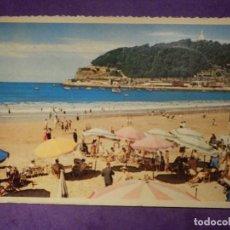 Postales: POSTAL - ESPAÑA - VIZCAYA - SAN SEBASTIAN - 17 VISTA PARCIAL DE LA PLAYA - P. ESPERON 1959 -. Lote 66791718