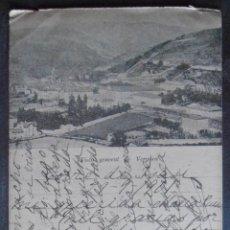 Postales: (48548)POSTAL ESCRITA,VISTA GENERAL DE VERGARA,BERGARA,GUIPÚZCOA,PAIS VASCO,DORSO SIN DIVIDIR. Lote 67723977
