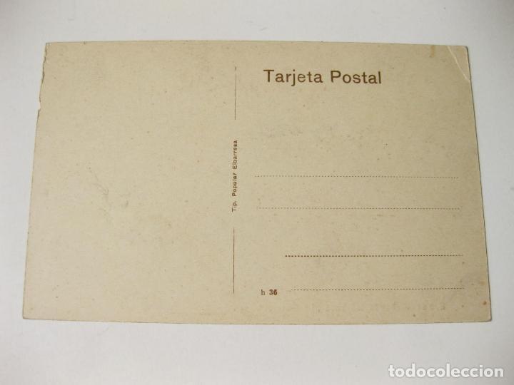 Postales: TARJETA POSTAL DE LA BANDA LAUREADA LA MARCIAL. EIBAR. SIN CIRCULAR. PAIS VASCO - Foto 2 - 68510237