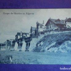 Postales: POSTAL - ESPAÑA - VIZCAYA - GRUPO DE HOTELES EN ALGORTA - L.G.. BILBAO . Lote 68517733