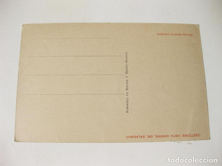 Postales: TARJETA POSTAL DE CESTONA. VISTA GENERAL DEL BALNEARIO. EDICION BLASA DE QUEREJETA - Foto 2 - 68530913