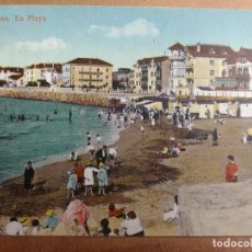 Postales: BONITA POSTAL BILBAO, LAS ARENAS, LA PLAYA, EDIDICON LG. Lote 69096761
