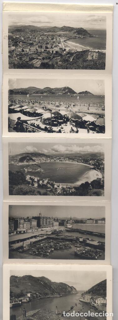 Postales: LIBRO DE 15 POSTALES-FOTOGRAFIAS ARTISTICAS RECUERDO DE SAN SEBASTIAN-FOTO GALARZA - Foto 2 - 70116641