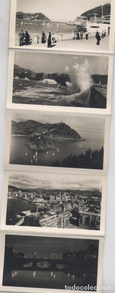 Postales: LIBRO DE 15 POSTALES-FOTOGRAFIAS ARTISTICAS RECUERDO DE SAN SEBASTIAN-FOTO GALARZA - Foto 3 - 70116641