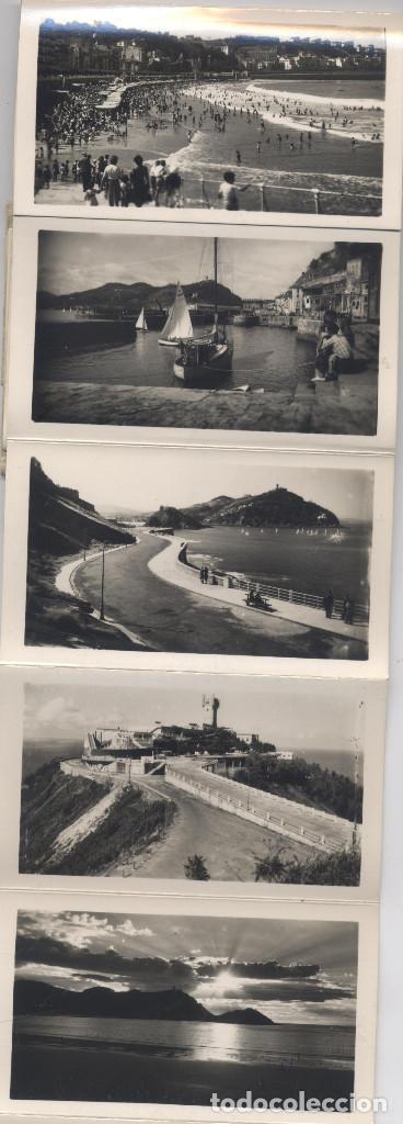 Postales: LIBRO DE 15 POSTALES-FOTOGRAFIAS ARTISTICAS RECUERDO DE SAN SEBASTIAN-FOTO GALARZA - Foto 4 - 70116641