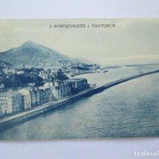 Postales: PORTUGALETE Y SANTURCE Nº 2 GRAFOS MADRID. Lote 70336329