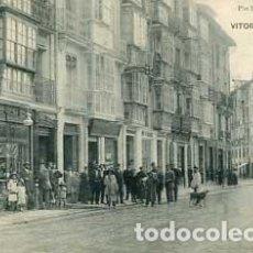 Postales: VITORIA CALLE POSTAS PIO LUIS LARRAÑAGA. Lote 70434625