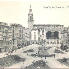Postales: VITORIA PLAZA DE LA VIRGEN BLANCA. Lote 70442373