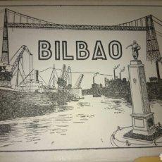 Postales: 10 POSTALES ANTIGUAS DE BILBAO ÁLBUM 1. Lote 70444441