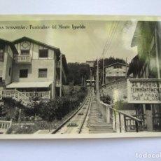 Postales: SAN SEBASTIAN FUNICULAR DEL MONTE IGUELDO. G. H. ALSINA Nº 4. Lote 70590981