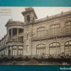 Postales: POSTAL - ESPAÑA - SAN SEBASTIAN - 12.- CASINO MONTE IGUELDO - L. ROISIN . Lote 121422522
