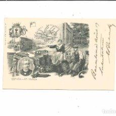Postales: POSTAL VIZCAYA 47 MAPA, BILBAO LA RIA, ARBOL DE GUERNICA, CAMPESINOS, ESCRITOR ANTONIO DE TRUEBA. Lote 71626803