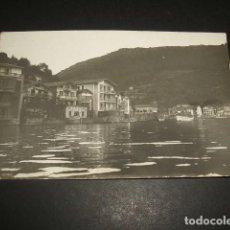 Postales: PASAJES DE SAN JUAN GUIPUZCOA POSTAL FOTOGRAFICA VISTA Y FONDA Y CAFE DEL PUERTO HACIA 1910. Lote 71674671