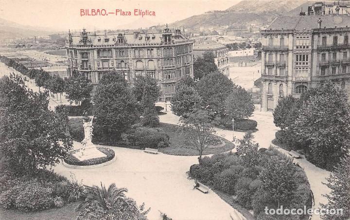 BILBAO.- PLAZA ELIPTICA (Postales - España - Pais Vasco Antigua (hasta 1939))