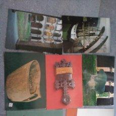 Postales: 7 POSTALES MUSEO VASCO. BILBAO EXCLUSIVAS SAN CAYETANO Y GRÁFICAS LOROÑO. SIN CIRCULAR. AÑOS 80. Lote 73443195
