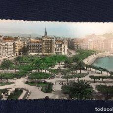 Postales: POSTAL SAN SEBASTIAN PARQUE ALBERDI EDER LUJO 74 8,5 X 13,5 CMS. Lote 73812291
