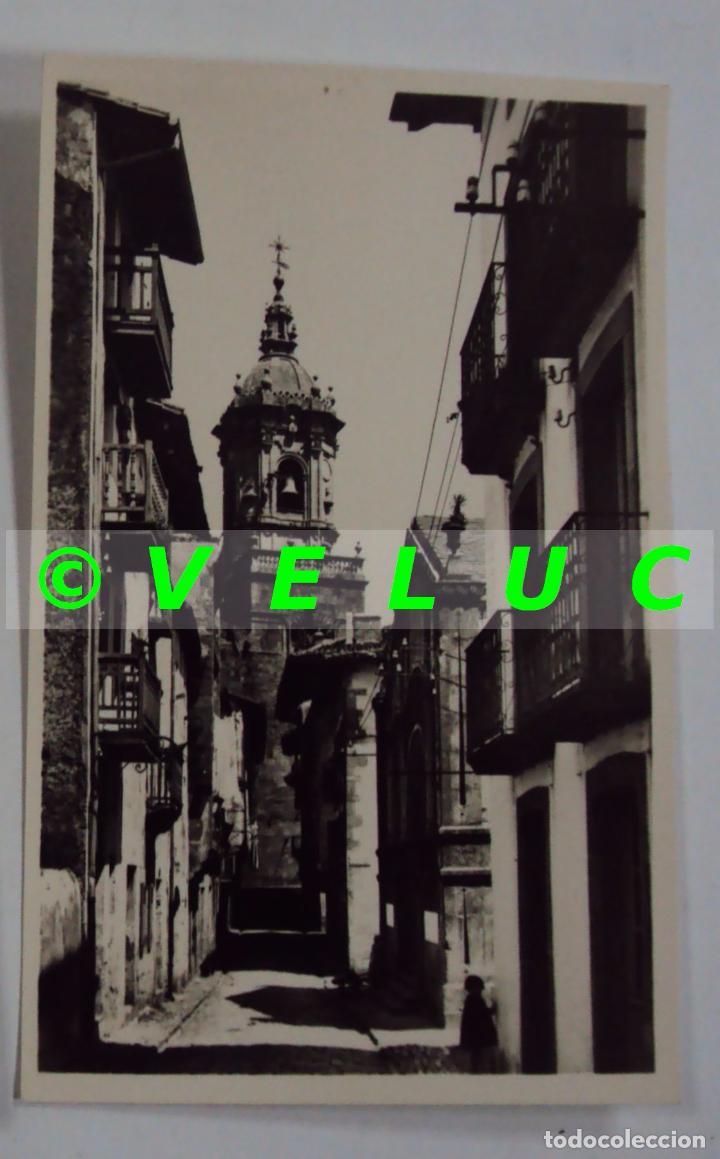 FUENTERRABIA (GUIPUZCOA): CALLE DE LAS TIENDAS Nº 27 GALARZA, AÑOS 50 SIN CIRCULAR (Postales - España - País Vasco Moderna (desde 1940))