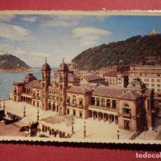 Postales: POSTAL - ESPAÑA - SAN SEBASTIAN - 7.- EL AYUNTAMIENTO - P. ESPERON - NC - 1960. Lote 75035059