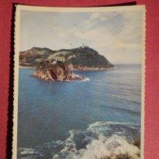 Postales: POSTAL - ESPAÑA - SAN SEBASTIAN - 31.- ENTRADA DE LA BAHIA DESDE MONTE URGULL, P. ESPERON - 1960. Lote 75037847