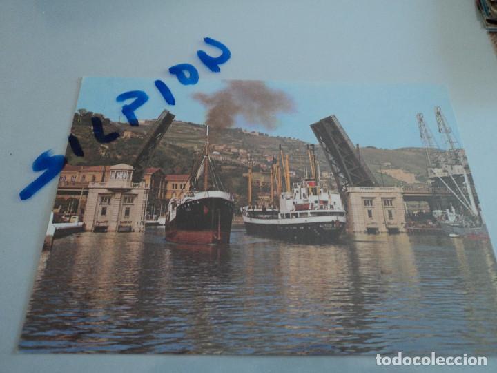 75 BILBAO PUENTE BASCULANTE (Postales - España - País Vasco Moderna (desde 1940))