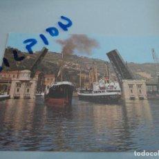 Postales: 75 BILBAO PUENTE BASCULANTE. Lote 76663023