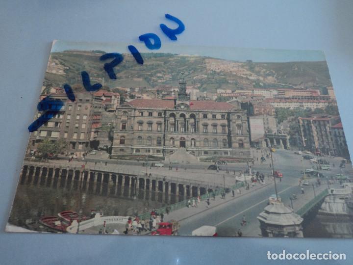 BILBAO PUENTE DEL GENERAL MOLA Y AYUNTAMIENTO ED. DARVI (Postales - España - País Vasco Moderna (desde 1940))