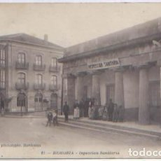 Postales: POSTAL BEHOBIA INSPECCION SANITARIA ED. DELBOY N° 21 ANIMADA GUIPUZCOA. Lote 76822991