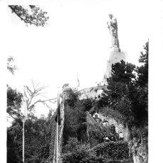 Cartes Postales: SAN SEBASTIÁN (GUIPUZCOA).- SUBIDA AL MONUMENTO AL SAGRADO CORAZÓN. Lote 76845367