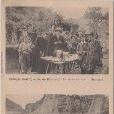 Postales: HERNANI (GUIPÚZCOA) - COLEGIO SAN IGNACIO - L. FREON - NEUILLY-PARIS. Lote 77942653