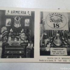 Postales: POSTAL SAN SEBASTIAN. ARMERIA. HIJOS DE P. MERINO. AÑO 1935.. Lote 78606789