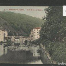 Postales: BALNEARIO DE CESTONA - 9- VISTA DESDE LA GALERIA -VER REVERSO -(46.841). Lote 79803613
