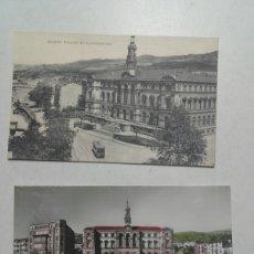 Postales: POSTAL BILBAO. PALACIO DEL AYUNTAMIENTO.. Lote 81980296