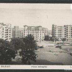 Postales: BILBAO - 207- PLAZA INDAUCHU- INDAUTXU - FOTOGRAFICA ROISIN - (47.510). Lote 82886168