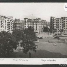 Postales: BILBAO - 207 - PLAZA INDAUCHU- INDAUTXU - FOTOGRAFICA ROISIN - (47.518). Lote 82886948